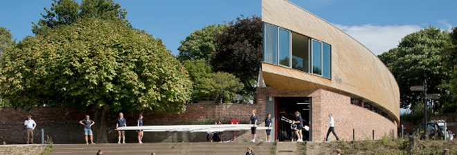 King's School has invested in a prestigious new £2.5m Boat House.
